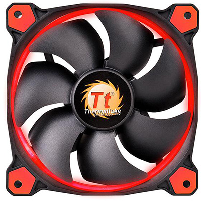 Riing 12 High Static Pressure LED Radiator Fan