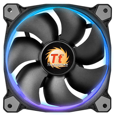 Riing 14 RGB High Static Pressure LED RadiatorFan SingleFanPack